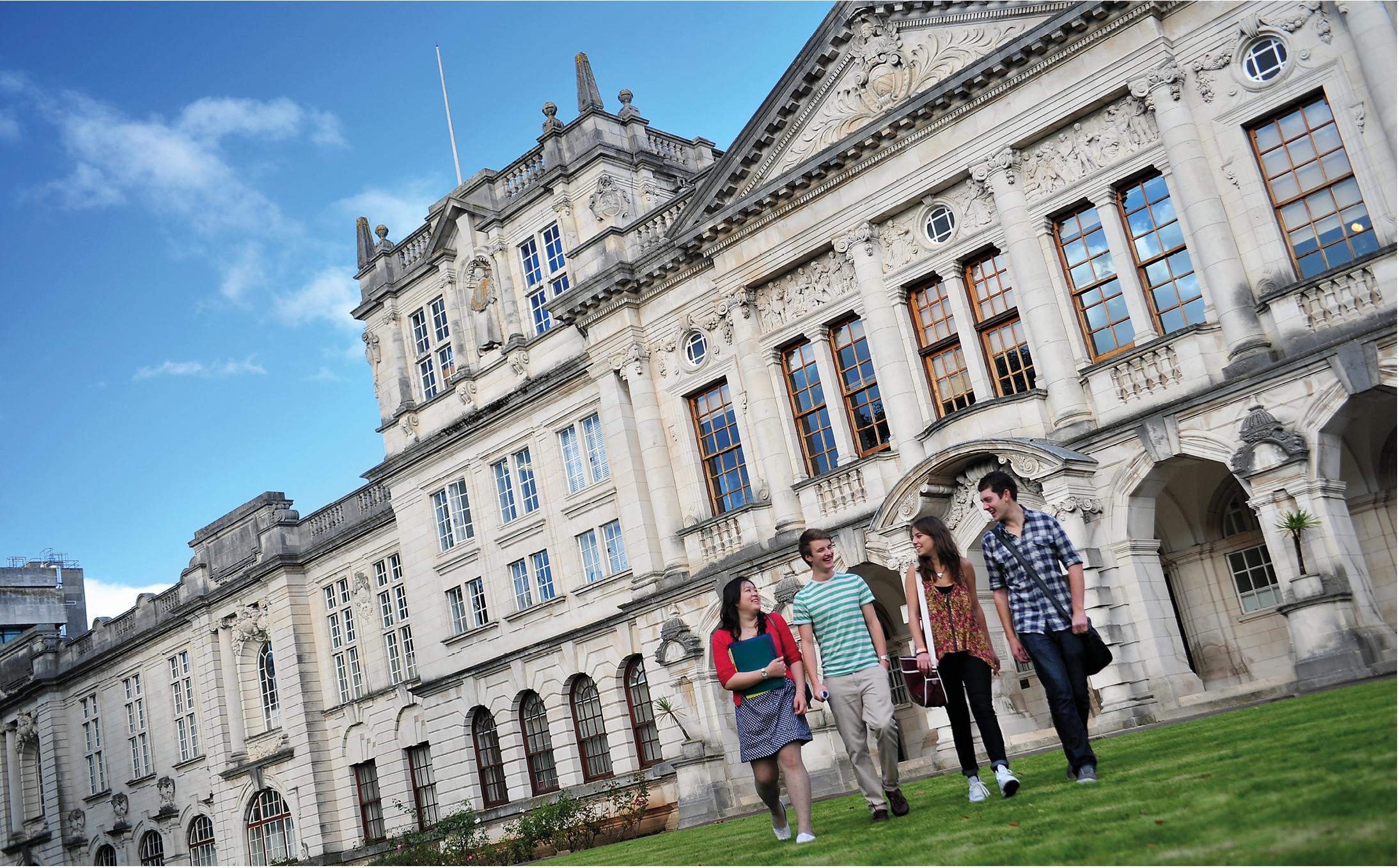 Undergraduates at Cardiff University