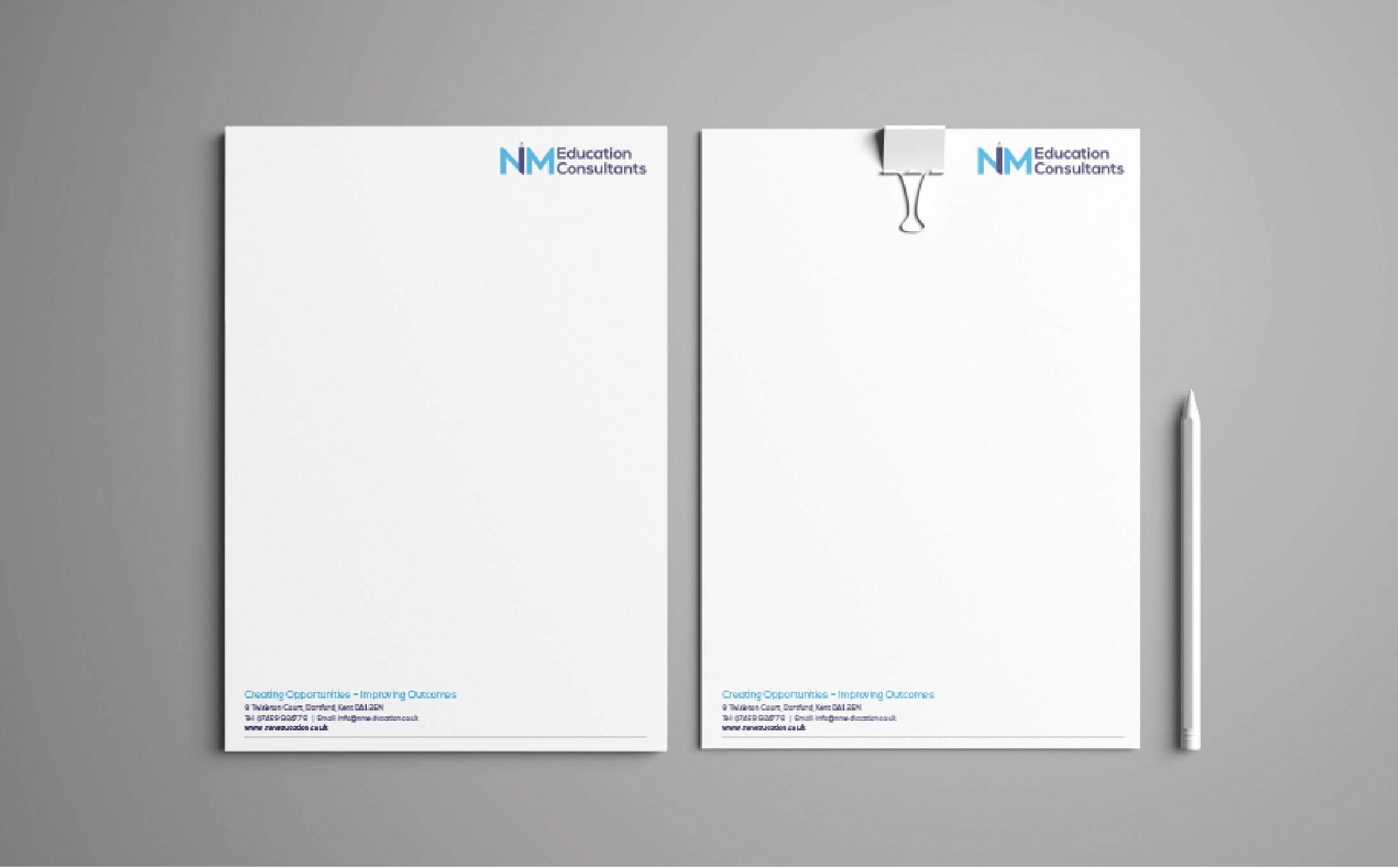 NM Education Consultants letterheads