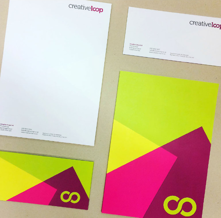 Creative Loop stationery