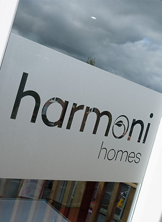 Harmoni Homes Window Vinyls